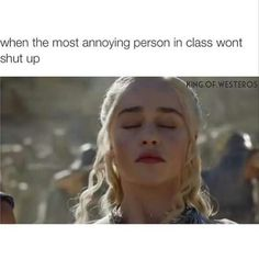 Yyyyyyyyyyyyyyyyyyyyyyyyyyyyeeeeeeeeeeeeeeeeeeeeeeeeeeeeeeeeeeeeeeeeeeeeeeessssssssssssssssssssssssss!!!!! That's so annoying! Once a girl talked 15 minutes after class started and was still talking when the bell rang. Art classes were 40 minutes long. even the teacher couldn't  to shut her up