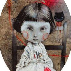 Pinzellades al món: Glenda Sburelin, des del país de la fantasia Children's Book Illustration, Character Illustration, Love Graffiti, Glenda, Paperclay, Beautiful Drawings, Fish Art, Funny Art, Cat Art