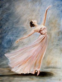 Ballerina Painting, Ballet Art, Ballet Dance, Dance Paintings, Canvas Art, Canvas Prints, Dance Art, Light Painting, Art Girl