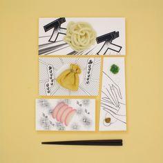 'Manga Plates' by Mika Tsutai