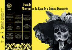 Día de Muertos 2014 en la Casa de la Cultura Oaxaqueña ~ Vive Oaxaca - Página Oficial