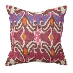 I pinned this from the Global Inspiration - Exotic Rugs, Pillows & Occasionals event at Joss and Main!