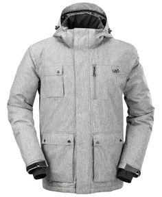 Mens Olen Gargoyle Grey Technical Ski  amp  Snow Jacket  3f680166e