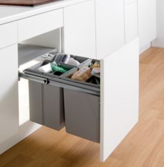 would fit below drawer but rather small Bio Waste Bin | Supplier - LDL Kitchen and Furniture Fittings & Accessories