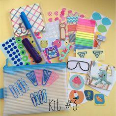 Filofax Planner Kit July Edition Kit 3 by Glitteryjem on Etsy