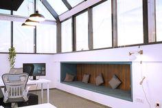 light, luminary, office, Bucharest office, industrial, niche, intimacy, confort