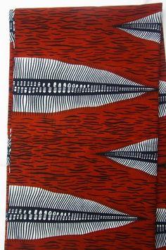 """afrikanischer Stoff """"Mkonzo"""" - Wax Print von duka dogo auf DaWanda.com"""