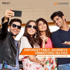 What would you call a phone which gets charged in just 2 hours and lasts for up to 2 days, giving you excellent Selfies, on the go? An A1 smartphone, right? Presenting the Gionee A1 that features a 16MP front camera with Selfie Flash that enables you to take A1 selfies at any time of the day or night. What's more, it runs the latest version OS – Android Nougat, and comes with a 2 year warranty. Get yours today!