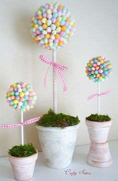 Cute decorations for Easter.