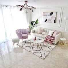 Luxury Homes Interior, Home Interior Design, My Living Room, Living Room Decor, Dream Home Design, House Design, Aesthetic Room Decor, Apartment Interior, Living Room Designs