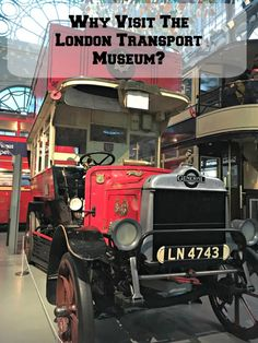Why visit the London Transport Museum in Covent Garden?