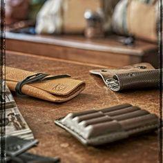 Leather accessories in el Mato's showroom in Cremona, Italy!