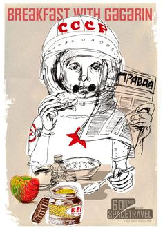 &WOLF – The best collection of wall art for your home Breakfast with Gagarin - &WOLF - The best collection of wall art for your home