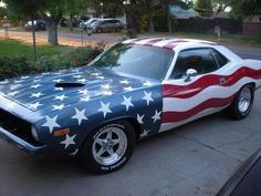 Fourth of July-Patriot 'Cuda