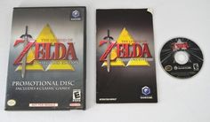 The Legend Of Zelda Collectors Edition - Nintendo Gamecube - Complete - Tested