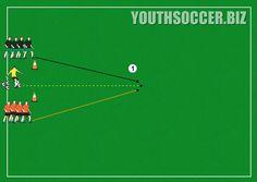 Winning the soccer ball drill