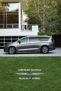 Driveway eye candy. #Chrysler #ChryslerPacifica #Pacifica #Hybrid #vangoals #views #minivan #familylife #momlife #dadapproved