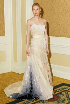 Brides: Tara LaTour - Spring 2012 | Bridal Runway Shows | Wedding Dresses and Style | Brides.com