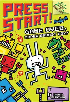 Game Over, Super Rabbit Boy! by Thomas Flintham