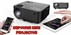 DBPower T20 1500 Lumens LCD Mini Projector Giveaway