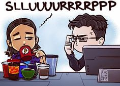 """Slurp"" Cisco and Harry's love/hate relationship gets better with every episode. #LordMesa #TheFlash"