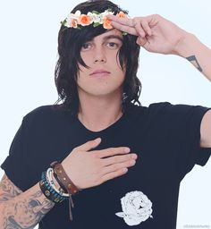 The only person that can wear a flower crown and not fail in this world.