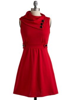 Coach Tour Dress in Rouge, #ModCloth