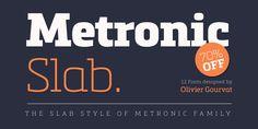 Font dňa – Metronic Slab Pro (rodina 57,50€) - http://detepe.sk/font-dna-metronic-slab-pro-rodina-5750e/