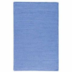 "Simply Home Solids Blue Ice Rug Rug Size: 9' x 12' by Colonial Mills. $800.00. H870R108X144S Rug Size: 9' x 12' Features: -Technique: Braided.-Material: 100pct Polypropylene.-Origin: USA.-Reversible.-Stain resistant.-Fade resistant. Construction: -Construction: Hand guided. Dimensions: -Pile height: 0.5"".-Overall Dimensions: 34-168'' Height x 22-132'' Width x 0.5'' Depth. Collection: -Collection: Simply Home Solid."