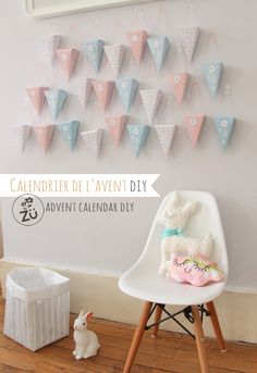 Zü Free printable advent calendar / Calendrier de l'Avent DIY (à télécharger)