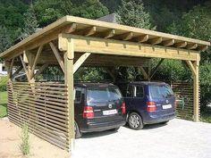 Pergola Carport, Wood Pergola, Deck With Pergola, Backyard Pergola, Attached Pergola, Attached Carport Ideas, Small Pergola, Cheap Pergola, Covered Pergola