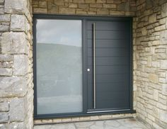 Modern Timber Front Door Kloeber FunkyFront (Medium)