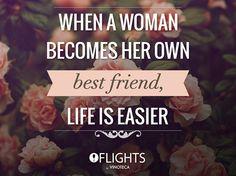 Sé tu mejor amiga. #Vinoteca #Flights #Wine #Quote