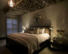 Love the star like ceiling
