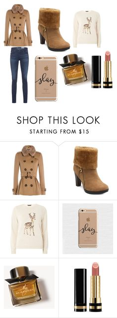 """""""Untitled #25"""" by magy999 on Polyvore featuring Burberry, Dorothy Perkins, Gucci and AG Adriano Goldschmied"""
