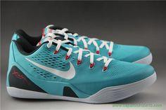 """Dusty Cactus"" Nike Kobe 9 EM 646701-316 Dusty Cactus/Branco-Action Vermelho-Gym Azul Masculino"
