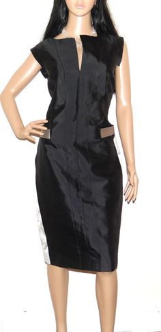 BNWT Gorgeous AMANDA WAKELEY Mainline Mikado Silk Pencil Dress UK 14 US 10 £894