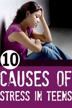 Is your child a teen? Worried about his/her stress? Here's an article on teenage stress which lets you know the top 10 causes of stress in teens. This might help you in making your child stress free.