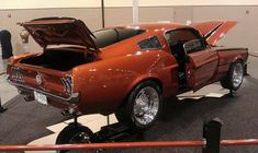 """'68 Mustang in 2005 Dodge """"Go Man Go"""" Paint"""