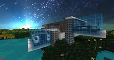 Amazing Minecraft Texture Packs   ... about space cities and don t forget how amazing that sky looks