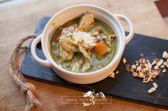 Pesto Chicken Soup