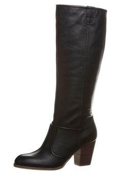 LINA - Høje støvler/ Støvler - sort