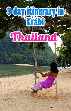How we spent 3 days in Krabi, Thailand