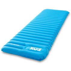Airlite Sleeping Pad for Camping, Backpacking, Hiking. Fast Inflatable Air Tube Design with Built in Pump. *** Built for the Outdoors Airlite Mats by Fox Outfitters are carefully designed for serious campers and backpackers. Crafted on a foundation of tim Camping In Texas, Camping And Hiking, Hiking Gear, Tent Camping, Camping Shop, Camping Mattress, Backyard Camping, Ultralight Backpacking, Camping Guide