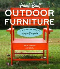 With a few basic tools and a weekend, anyone can build a beautiful project out of wood for their outdoor space! Hand-Built Outdoor Furniture covers the basics of woodworkinghow to measure, where and h