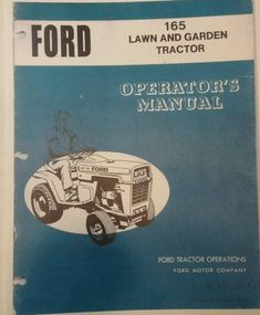 ford lgt 165 service manual | ford lgt 165 for sale gardening for dummies,  equipment