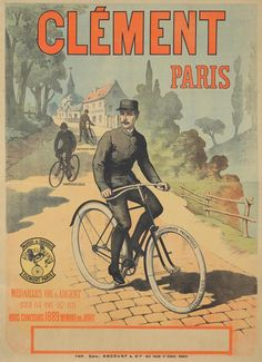 a2cab3b2949 11 Best Antique Cycling Posters images in 2016 | Bicycle kick ...