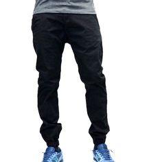 Jordan Craig Chino Jogger Pants - Black