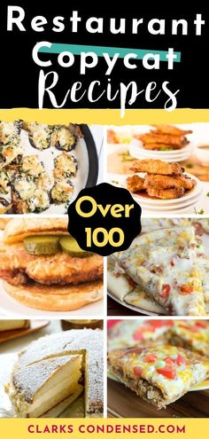 Looking to replicate your favorite restaurant's copycat recipes from home? Here are over 100 tried and true copycat recipes from favorite restaurants Kitchen Recipes, Cooking Recipes, Wok Recipes, Most Popular Recipes, Favorite Recipes, Cinnamon Chip Scones, Lemon Cream Cake, Quinoa, Restaurant