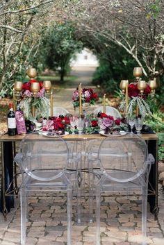Aubergine & Vine Wedding Inspiration | SouthBound Bride | http://www.southboundbride.com/aubergine-vine-wedding-inspiration-by-debbie-lourens-kadou | Credit: Debbie Lourens